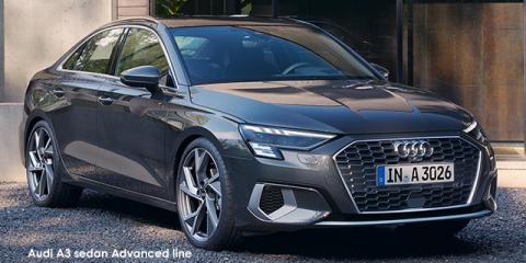 Audi A3 sedan 35TFSI Advanced - Image credit: © 2021 duoporta. Generic Image shown.