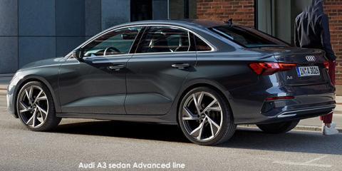 Audi A3 sedan 35TFSI S line - Image credit: © 2021 duoporta. Generic Image shown.