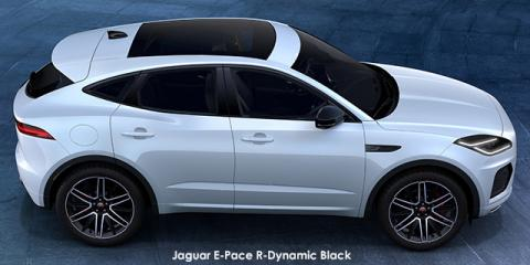 Jaguar E-Pace P250 AWD R-Dynamic Black - Image credit: © 2021 duoporta. Generic Image shown.