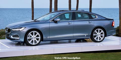 Volvo S90 B6 AWD Inscription - Image credit: © 2021 duoporta. Generic Image shown.
