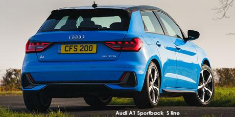 Audi A1 Sportback 30TFSI S line - Image credit: © 2021 duoporta. Generic Image shown.