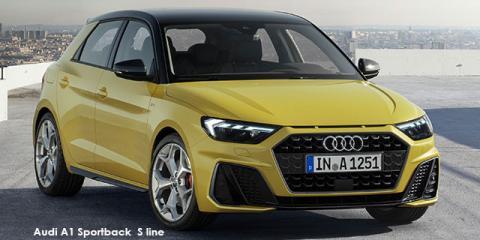 Audi A1 Sportback 40TFSI S line - Image credit: © 2021 duoporta. Generic Image shown.