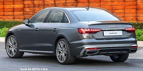 Audi A4 35TDI S line - Image credit: © 2021 duoporta. Generic Image shown.