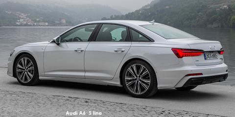 Audi A6 40TDI sports S line - Image credit: © 2021 duoporta. Generic Image shown.