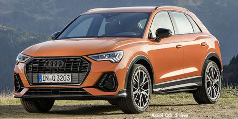 Audi Q3 35TFSI S line - Image credit: © 2021 duoporta. Generic Image shown.