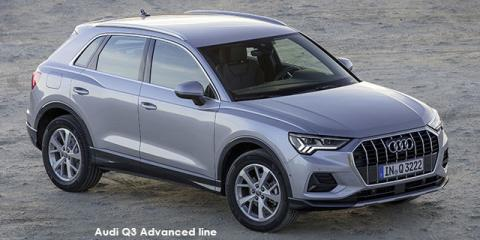 Audi Q3 40TFSI quattro Advanced - Image credit: © 2021 duoporta. Generic Image shown.