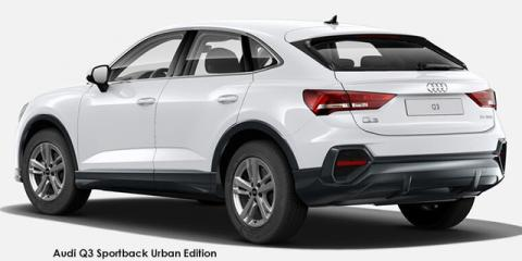 Audi Q3 Sportback 35TFSI Urban Edition - Image credit: © 2021 duoporta. Generic Image shown.