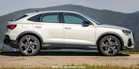 Audi Q3 Sportback 40TFSI quattro S line - Image credit: © 2021 duoporta. Generic Image shown.