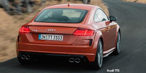 Audi TTS coupe quattro - Image credit: © 2021 duoporta. Generic Image shown.
