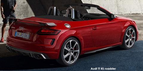 Audi TT RS roadster quattro - Image credit: © 2021 duoporta. Generic Image shown.