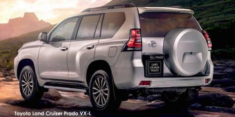 Toyota Land Cruiser Prado 4.0 VX - Image credit: © 2021 duoporta. Generic Image shown.