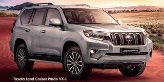 Toyota Land Cruiser Prado - Image credit: © 2021 duoporta. Generic Image shown.