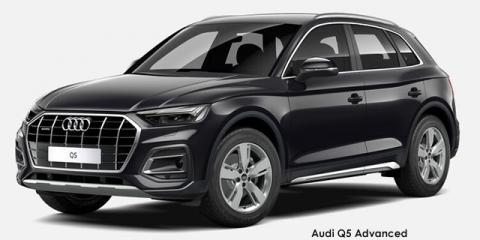 Audi Q5 40TDI quattro Advanced - Image credit: © 2021 duoporta. Generic Image shown.