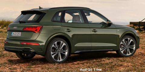 Audi Q5 40TDI quattro S line - Image credit: © 2021 duoporta. Generic Image shown.