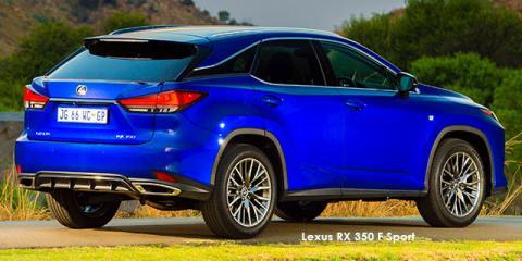 Lexus RX 350 F-Sport - Image credit: © 2021 duoporta. Generic Image shown.