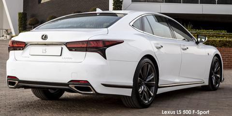 Lexus LS 500 F-Sport - Image credit: © 2021 duoporta. Generic Image shown.