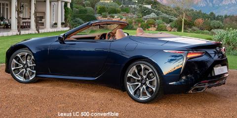 Lexus LC 500 convertible - Image credit: © 2021 duoporta. Generic Image shown.