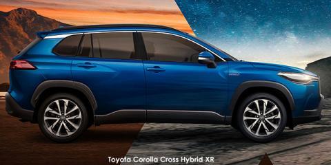 Toyota Corolla Cross 1.8 Hybrid XR - Image credit: © 2021 duoporta. Generic Image shown.