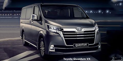 Toyota Quantum 2.8 LWB bus 6-seater VX Premium - Image credit: © 2021 duoporta. Generic Image shown.