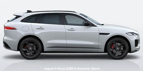 Jaguar F-Pace P250 AWD R-Dynamic Black - Image credit: © 2021 duoporta. Generic Image shown.