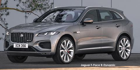 Jaguar F-Pace P400 AWD R-Dynamic SE - Image credit: © 2021 duoporta. Generic Image shown.