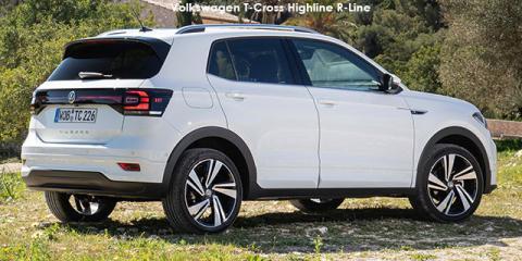 Volkswagen T-Cross 1.0TSI 85kW Highline R-Line - Image credit: © 2021 duoporta. Generic Image shown.