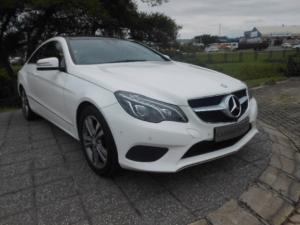 Mercedes-Benz E 400 Coupe for R 449,950