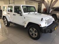 Jeep Wrangler 2.8 CRD Unltd Sahara automatic