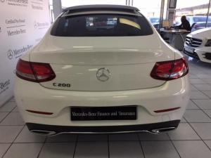 Mercedes-Benz C-Class C200 coupe auto - Image 4