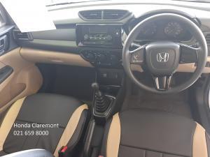 Honda Amaze Amaze 1.2 Comfort - Image 5
