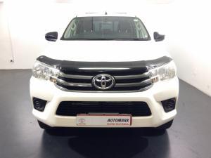 2016 Toyota Hilux 2.4 GD-6 SRX 4X4D/C