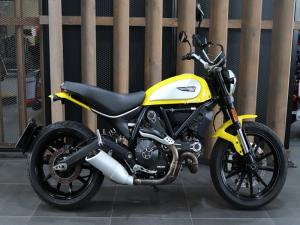 Ducati Scrambler Icon Yellow - Image 1