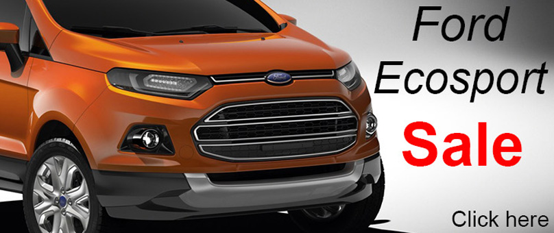Ford Ecosport Sale (New Vehicle Offer)
