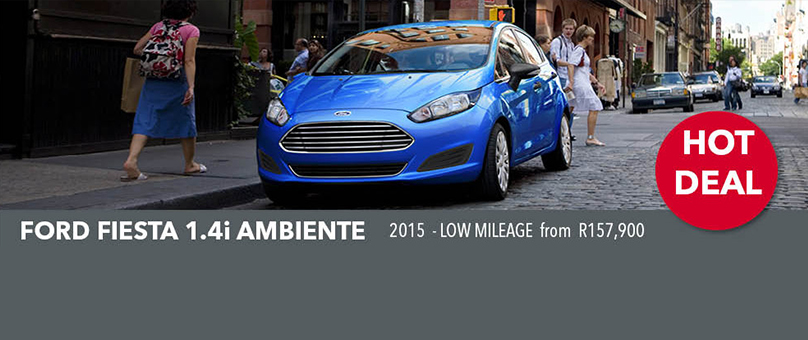 2015 Ford Fiesta 1.4i Ambiente