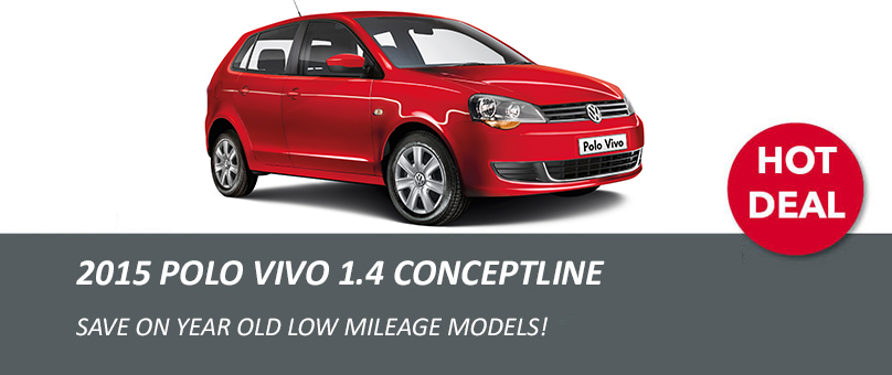 2015 Polo Vivo 1.4 Conceptline