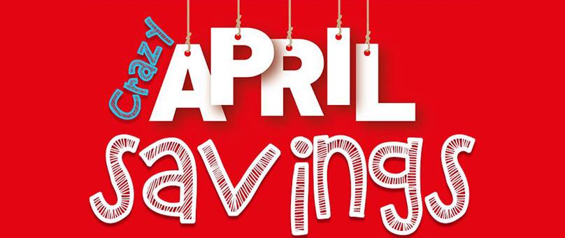 Barons Bruma Crazy April Savings! (New Vehicle Offer)