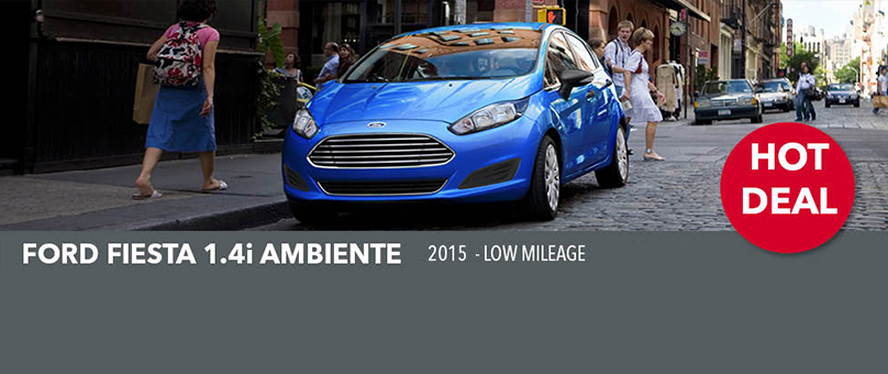 2015 Ford Fiesta 1.4i Ambiente