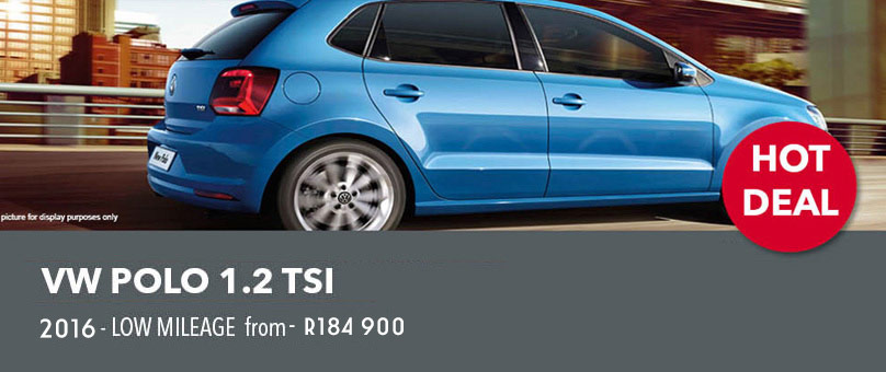 2016 VW Polo 1.2 TSI