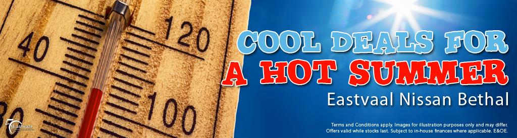 Cool deals for a hot Summer