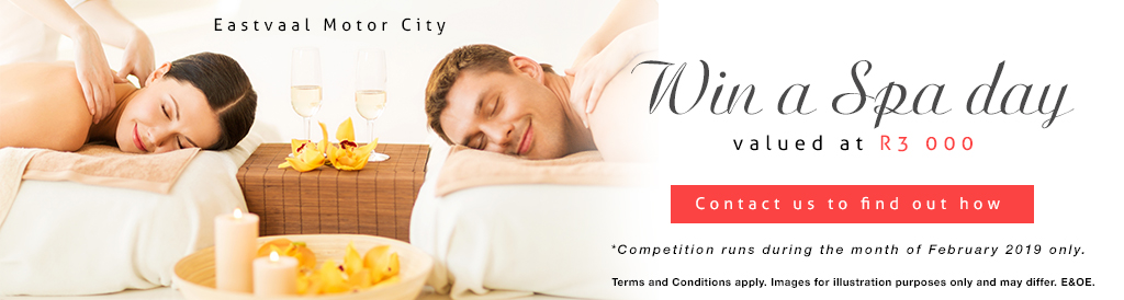 Win a Spa day values at R3 000