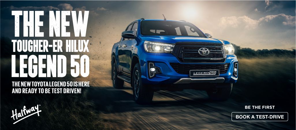 The New Tougher Er Hilux Legend 50