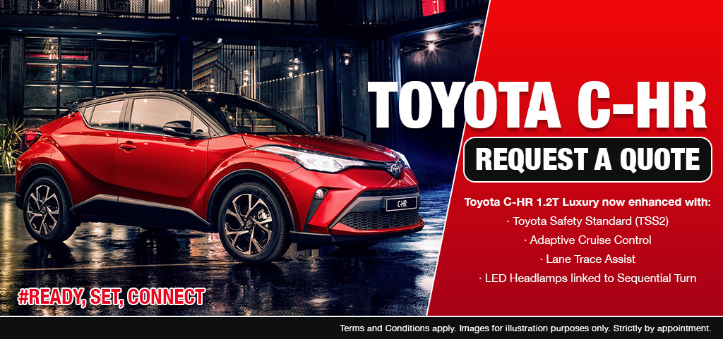 Toyota C Hr From R394 400