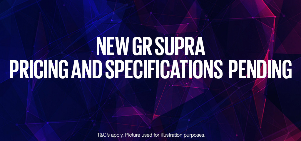 New Gr Supra Specifications Pending