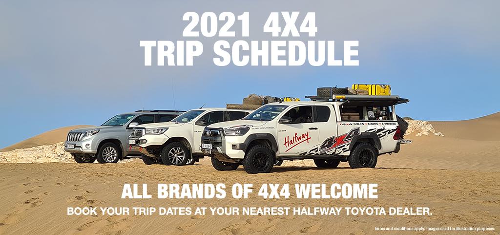 2021 4x4 Trips By Halfway Toyota