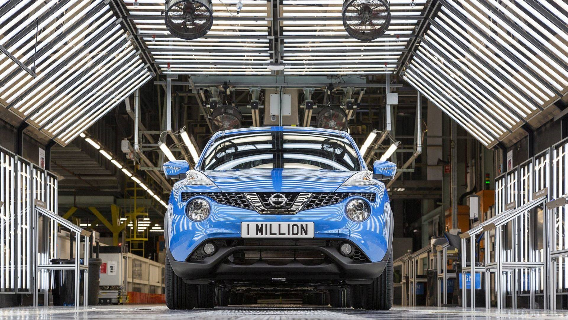 One millionth Juke Built at Nissan Sunderland 4