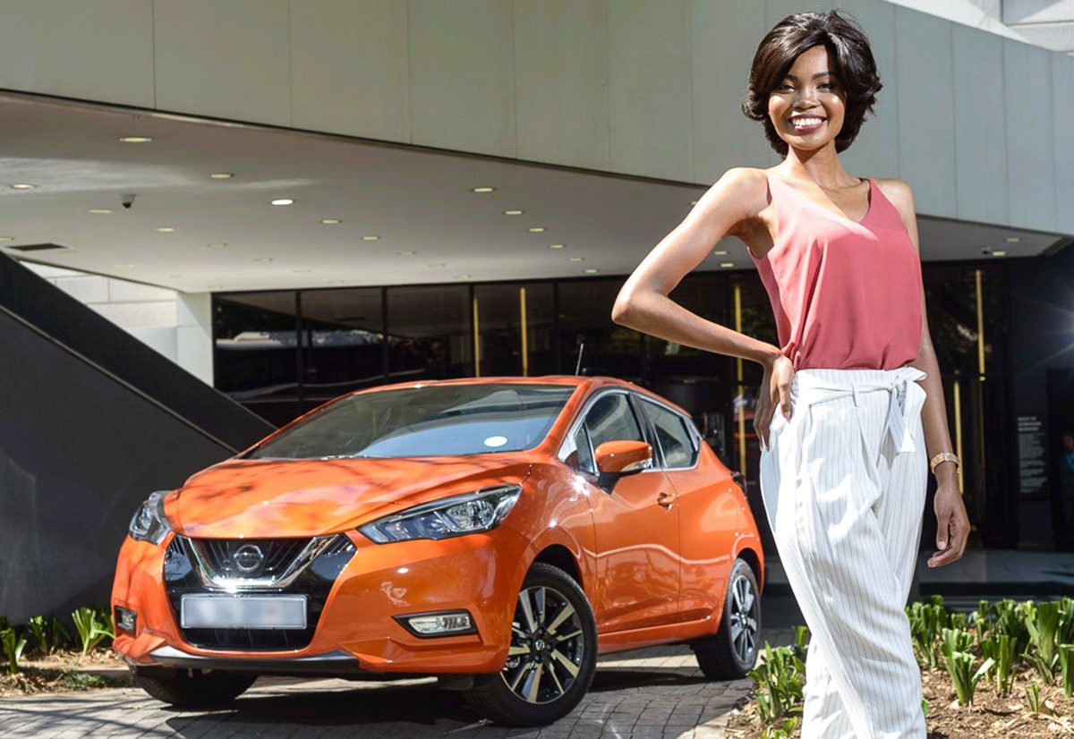 Nissan is Proud to Sponsor Miss SA Runner-Up