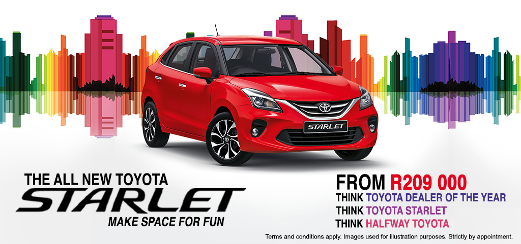 The All New Toyota Starlet   Make Space For Fun