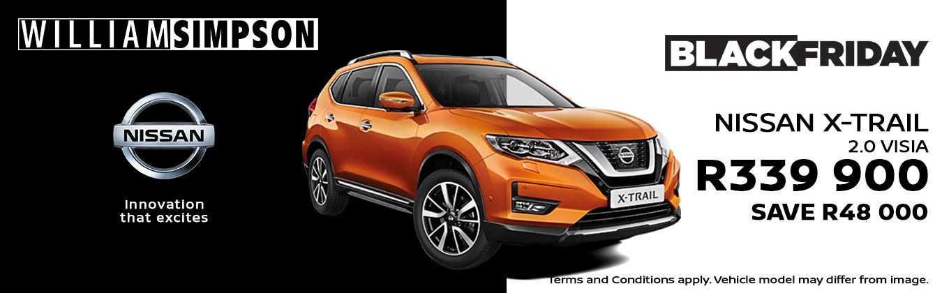 Nissan X-Trail 2.0 Visia