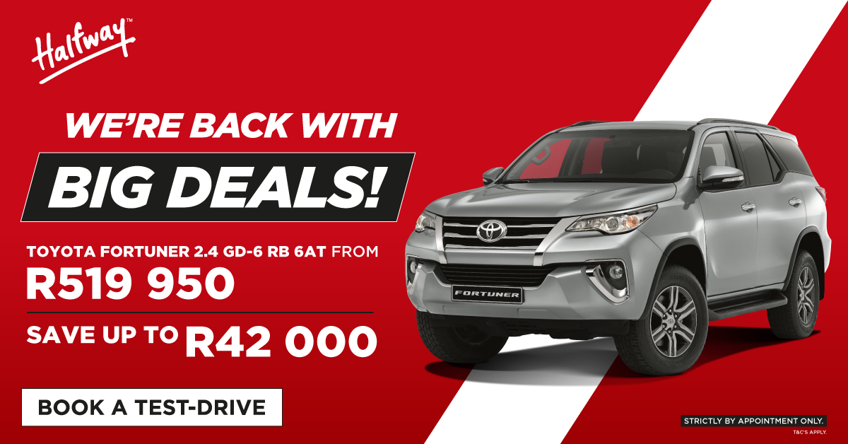 Big Deals   Fortuner
