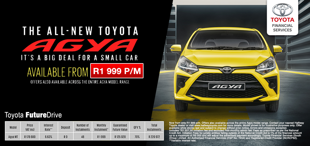 Toyota Agya Tfs Offer
